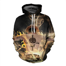 Portgas D Ace Hoodie Sweatshirt 3D Print