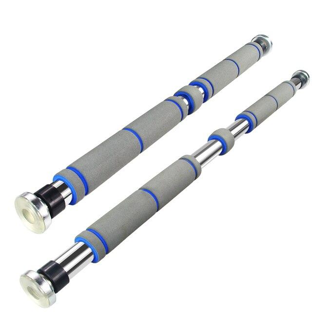 60100cm indoor adjustable pull up horizontal door gym with nonslip foam chinup bar equipment