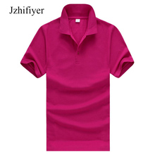 Free Shipping Size Many Colors High Quality Short Sleeve Cotton Mens Polo Shirts