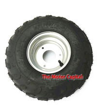 Tubeless Tire ATV Tire 145/70-6 Vacuum Tire with 6 Inch Wheel Hub fits Beach Car Karting Small Bull 145 / 7 0 - 6
