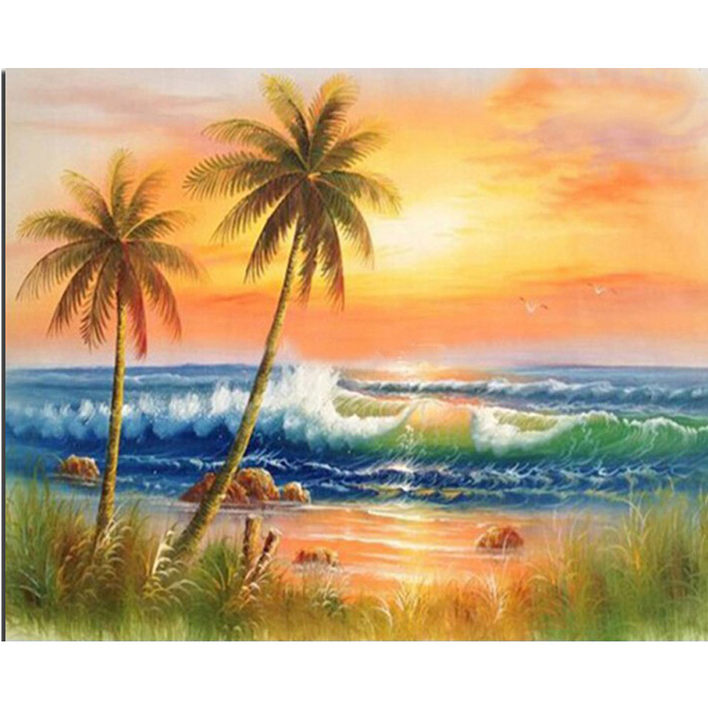 Simple Painting Popular Simple Scenery Painting Buy Cheap Simple Scenery Painting