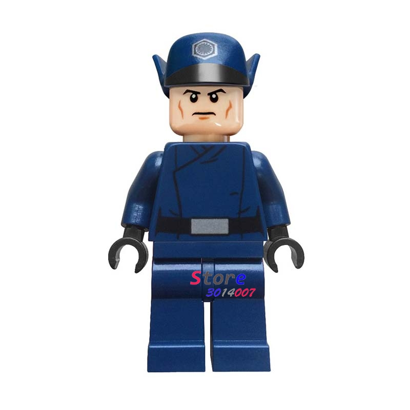 Single Star Wars First Order Officer super heroes marvel dc comics building blocks models bricks toys for children kits