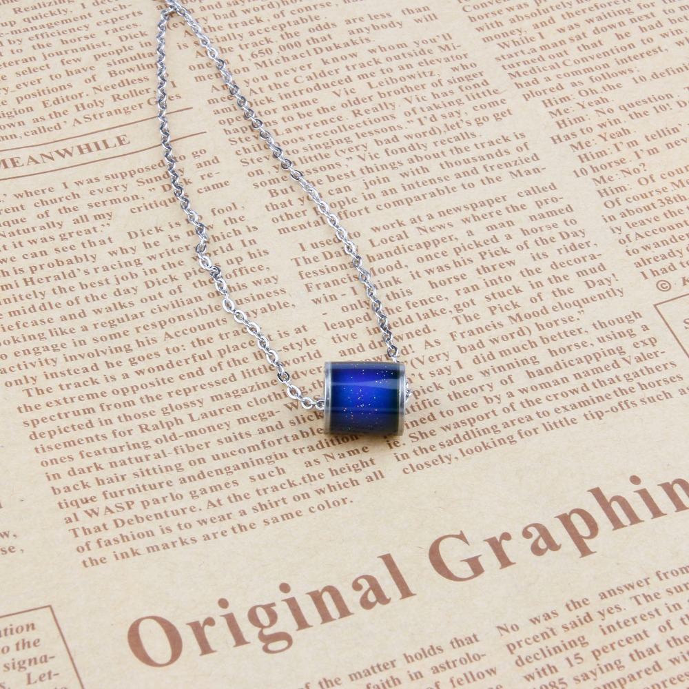geekoplanet.com - Lucky Mood Tracker Beads Necklace
