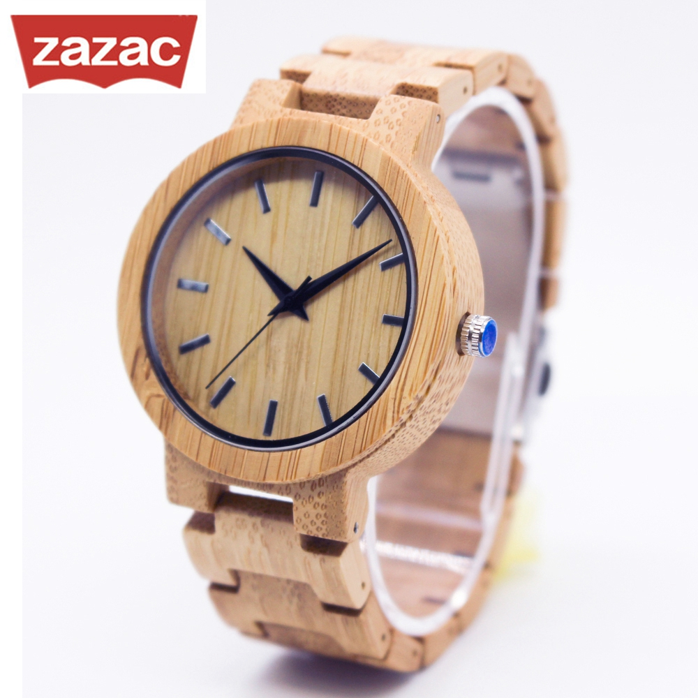 Nature Wood Watch Fashion Mens Wooden Bamboo Watch Quartz men Watch Handmade Classic Quartz Wristwatch Wood simple handmade wooden nature wood bamboo wrist watch men women silicone band rubber strap vertical stripes quartz casual gift