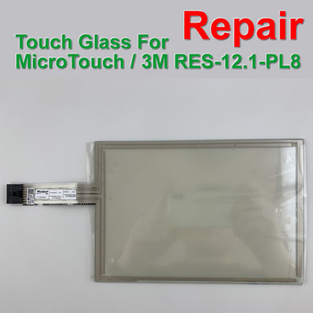 RES12.1PL8T RES-12.1-PL8 RES12.1PL8 RES-12.1PL8 12.1 8 wire touch screen For HMI & CNC Machine Repair,Free shipping