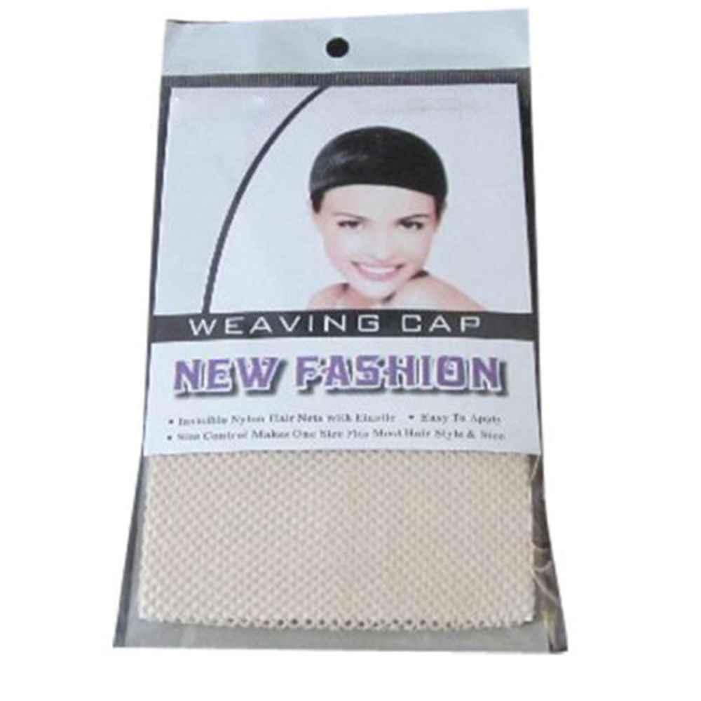 1 PC Fashion Vrouwen Haar Pruiken Kous Cap Weven Mesh Net Visnet Dames Elastische Pruik Caps Ademend