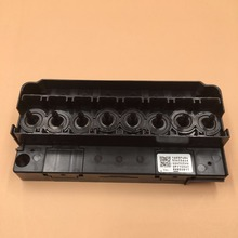 for Epson DX5 F158000 F160010 F187000 Water Printhead Pirnt head Manifold / Adapter For 4800 4880 7800 9800 print head adapter dx7 head manifold dx7 printhead print head solvent manifold adapter f189010 printhead solvent adapter
