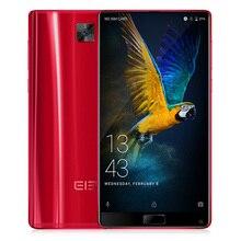 """Elephone S8 Android 7.1 6.0 """"2 К Экран 21mp helio x25 Дека Core 2.5 ГГц 4 ГБ + 64 ГБ 3D Изогнутые Стекло 4 г мобильного телефона отпечатков пальцев"""
