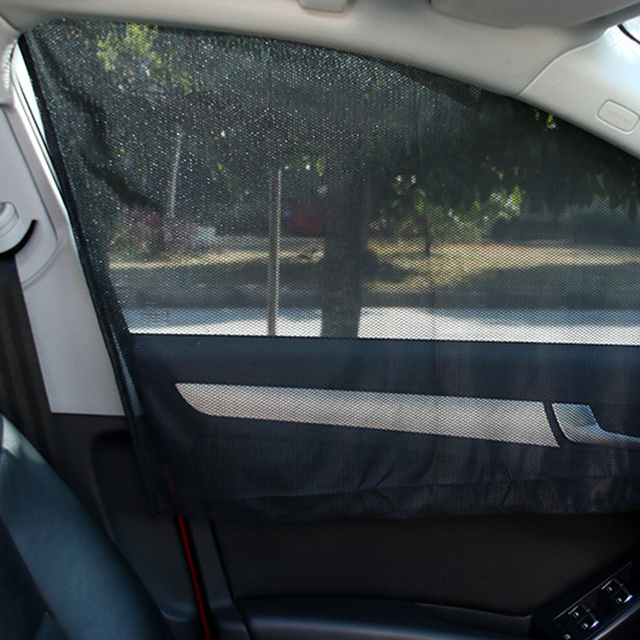 Car Magnetic Curtain Side Shade Sun Protection Insulation Sleeping For Children   Window   Accesorios Para Autos rro