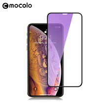 for iPhone XS Screen Protector Mocolo Full Cover for iPhone