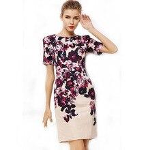 2015# Fashion womens Slimming Design Office Work Dress Prom Pencil dresses Midi bodycon Dress plus size Dress S-XXXXL