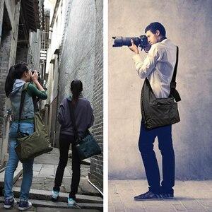 Image 5 - Лидер продаж, легкая водонепроницаемая сумка CAREELL C2028 для SLR камеры, сумка на плечо для микро одной камеры, профессиональная Повседневная сумка для мужчин и женщин