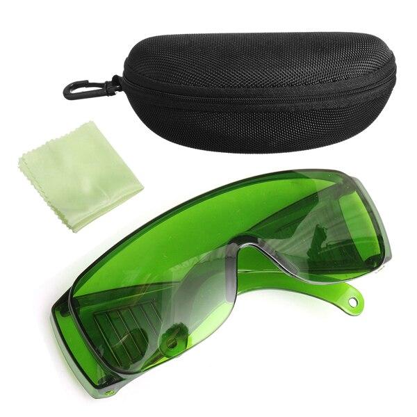 NEUE Safurance IPL Grün 200-2000NM Laserlicht Schutz Schutzbrille Brille OD + 4 Mit Box Arbeitssicherheit
