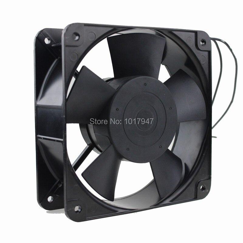5 pièces Lot Gdstime Muffin ventilateur boîtier 220 V 240 V 180mm x 60mm roulement à billes AC 2 broches refroidissement