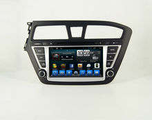 For capacitive touch screen 2 din Car autoradio gps for Hyundai I20 with radio RDS BT Ipod USB SD 3G WIFI Steering wheel control