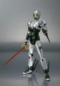 Image 4 - Japan Kamen Masked Rider Original BANDAI Tamashii Nations SHF/ S.H.Figuarts Toy Action Figure   Shadow Moon Ver 1.0