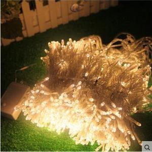 Image 5 - ¡Año Nuevo! Guirnaldas De luces Led para Navidad decoración De boda, CA 110 220v, 10x0,65 m, luces Led De Cortina