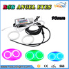 Super bright 2 pieces Angel Eyes 90mm 2835 smd RGB color changable remote control led auto Halo Rings Kit car styling