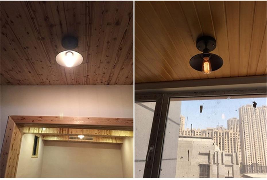 HTB1d2qGdi6guuRjy0Fmq6y0DXXa6 Vintage Ceiling Lights Lustre Luminaria Led Ceiling Lamp Loft Iron Cage Fixtures Abajur Home Lighting Plafonnier For Living Room