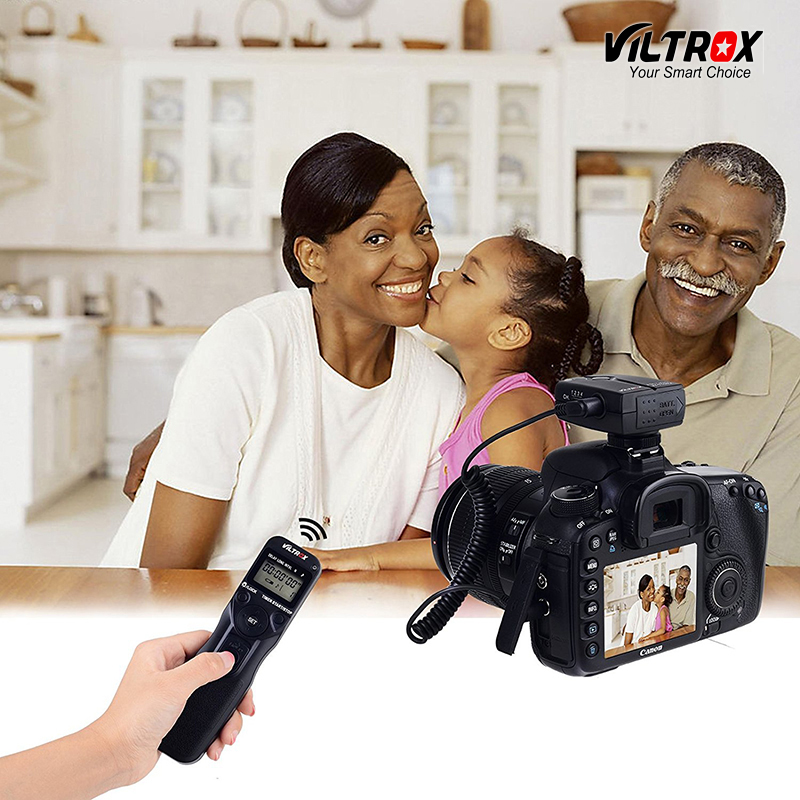 Viltrox JY-710 Caméra Sans Fil Minuterie Déclencheur À Distance De Contrôle LCD affichage pour Canon 77D 5D Mark IV Nikon d80 Sony Olympus