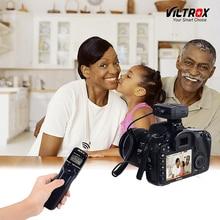 Viltrox JY-710 Temporizador Disparador de Obturador Remoto Sem Fio Da Câmera de Controle de LCD visor para Canon 5D Mark IV Nikon d80 77D Sony Olympus