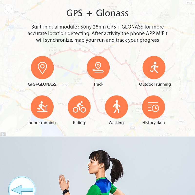 Huami Amazfit Bip iOS Android Téléphone Sport montre intelligente gps Bluetooth moniteur de fréquence cardiaque Longue Jours autonomie de la batterie IP68 Étanche - 3