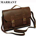 MARRANT Vintage PU Leather Men Bag Men Messenger Bags Shoulder Crossbody Bag Business Briefcase Brand PU Leather Handbag