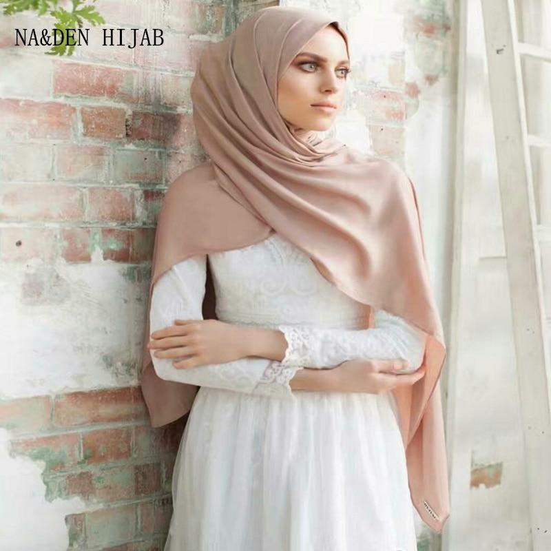 Plain Bubble Chiffon Solid Scarves/scarf Shawls Headband Beach Hijab Summer Muslim Wraps 55 Colors Hot Sale High Quality 20pcs