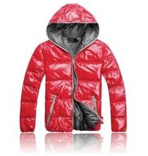 2019 New Men Cotton Clothing Parkas Candy Zipper Male Warm Parkas Men's Hooded Jacket Coat M-3XL