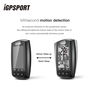 Image 4 - iGPSPORT IGS50E GPS Cycling Computer Wireless IPX7 Waterproof Bicycle Digital Stopwatch Cycling Speedometer ANT+ Bluetooth 4.0