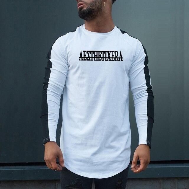 Long Sleeve Raglan T‑shirt
