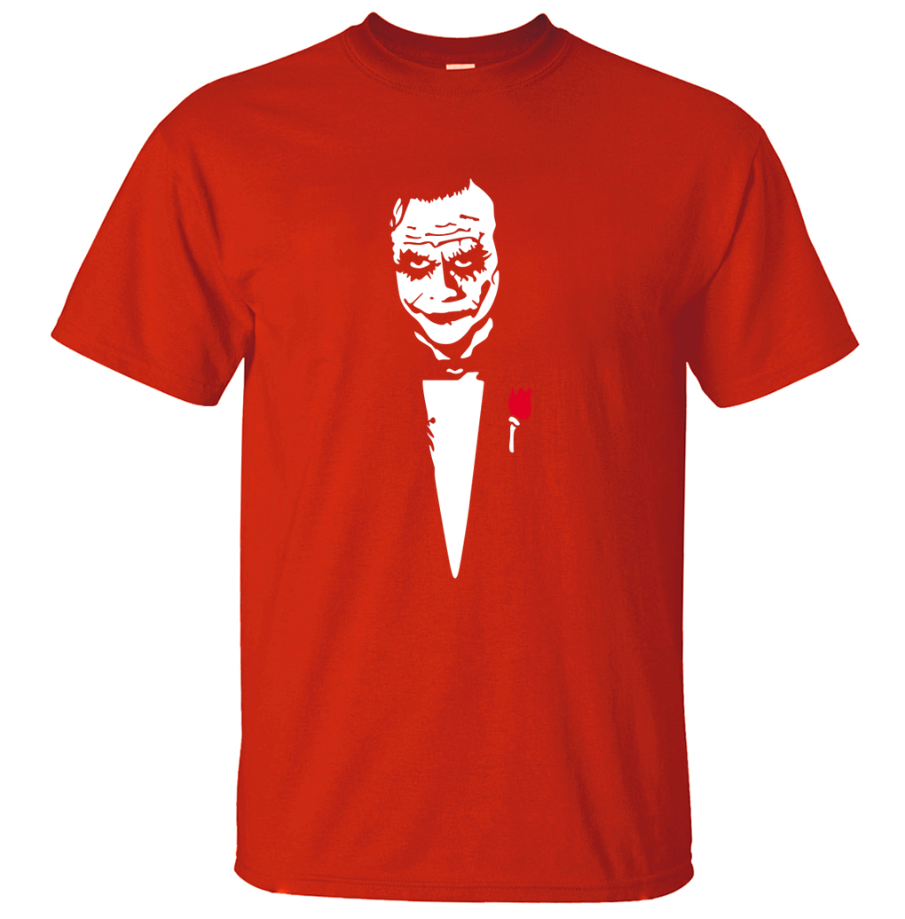 Batman Joker Why So Serious-T-Shirt Uomo