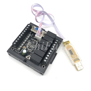 Image 1 - PLC FX1N 14MR delayed module with program cable and shell
