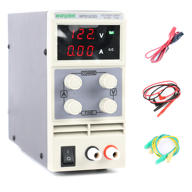 120V 1A 2A 3A Adjustable Digital DC power supply 110V 220V Switching Power Supply 0.01V US/EU/AU Plug new adjustable dc 3 24v 2a adapter power supply motor speed controller with eu plug for electric hand drill
