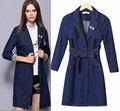 2016 Новые Моды для Женщин Осень Пальто olsolid цвет с длинными рукавами пальто M1740