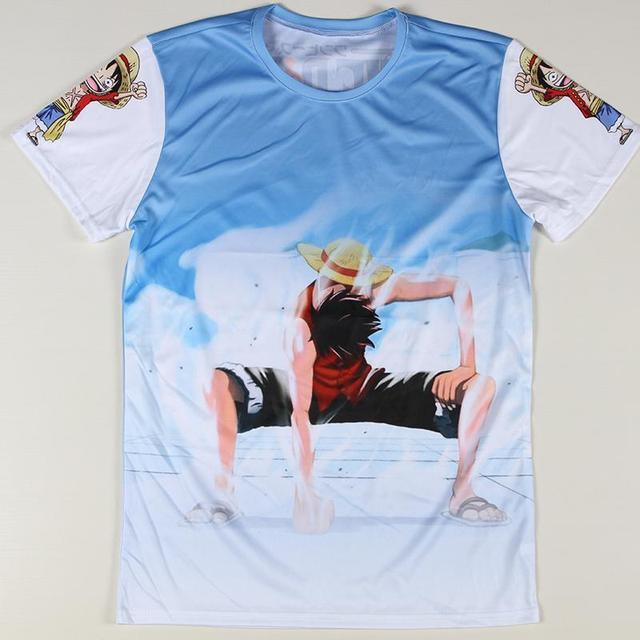 Cheap Sale Cartoon 3D One Piece Luffy T shirts Fashion Tokyo Ghoul ...