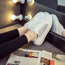 Women Plaited Shoes Lace-up Casual Shoes Bright Platform Round Toe ladies shoes Loafers For women Mocasines zapatos mujer ZH013