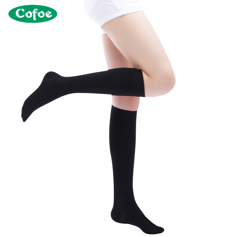 Underwear & Sleepwears Capable Unisex Medical Compression Socks Women Men Pressure Varicose Veins Leg Relief Pain Knee High Stockings Socks Men 1pair New Hot Low Price