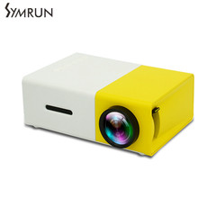 Symrun LED Moveable Projector  Audio 320×240 Pixels HDMI USB Mini Projector Residence Media Participant Help AV SD Moveable Projector