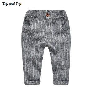 Image 5 - עליון ועליון חורף ילדי בגדי אדון בני ביגוד סט חולצה + אפוד + מכנסיים ולקשור מסיבת תינוק בני בגדי 3 יח\סט