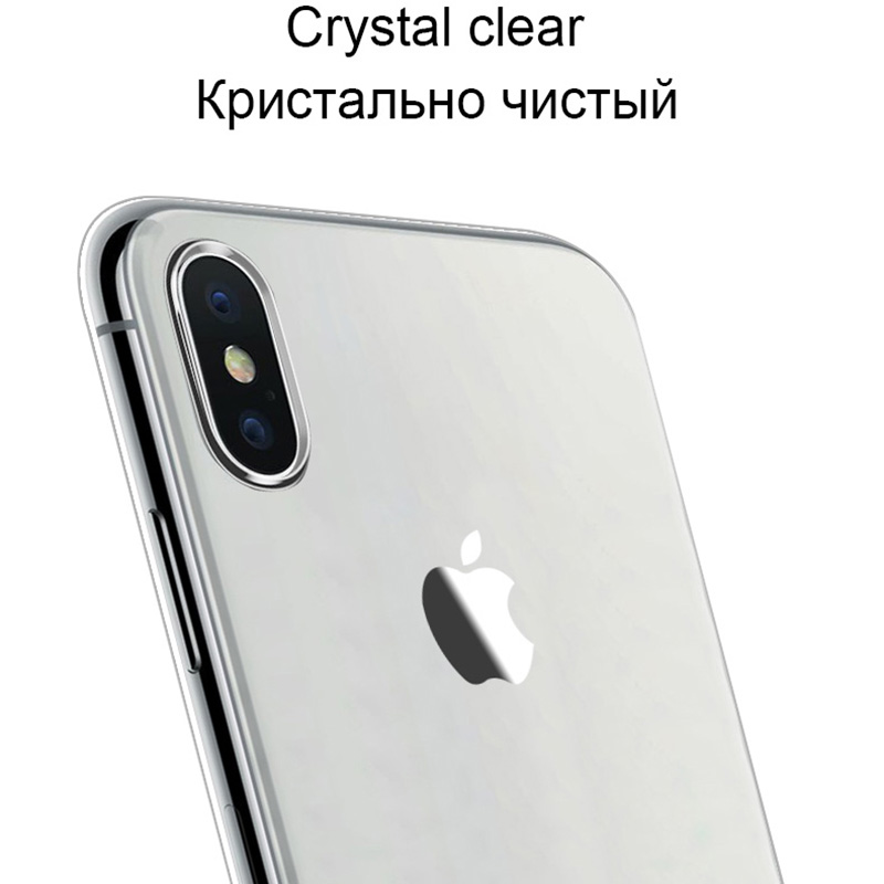 Crystal Clear Silicone Soft Phone Back Shell With High Quality Material For iPhone Models 2