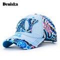 2017 красочные цветочные регулируемая snapback джинсовая бейсболки шляпы для женщин спортивные хип-хоп кости gorras джинсы оснастку резервное вс шляпа
