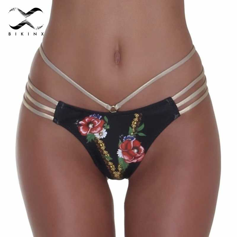 Estampado Floral Halter Extremo 2019 Micro Baño Triángulo De Bikini Sexy Verano Mujer Bañador Traje WEDI9YH2