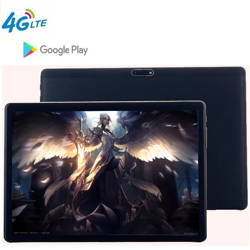 CARBAYTA 2019 The Tablet 3G 4G LTE FDD Android 8.1 Octa Core 2.5D Glass 4GB RAM 64GB ROM WiFi GPS 10.1' Tablet IPS Screen 8MP