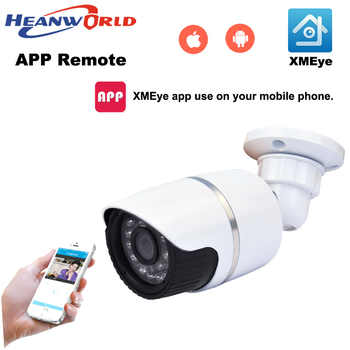 Heanworld 1080P HD outdoor bullet IP camera waterproof cctv security camera support P2P onvif mobile phone view day and night