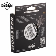 SeaKnight W8 300M 8 Weaves PE Fishing Line Braided Multifilament Fishing Line Wide Angle Braided Technology 15 20 30 50 80 100LB