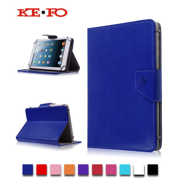 """Solid Color PU Leather Case Stand Cover For Irbis TX18/TX17  7""""inch Universal Android Tablet bags for kids M2C43D"""