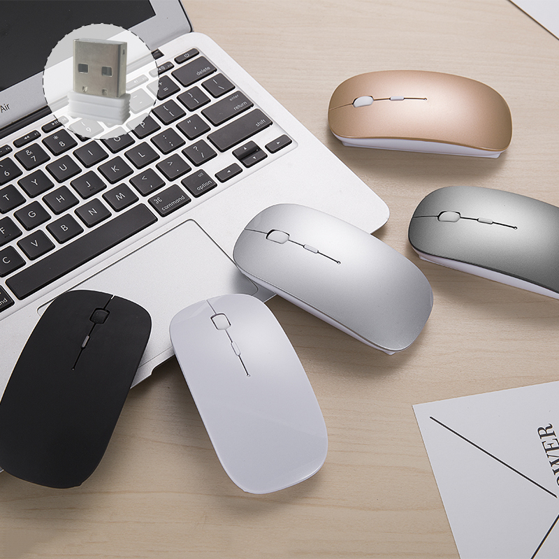 New usb mouse draadloze muis pc Mouse Wireless 2.4ghz for Macbook Xiaomi Wireless mouse for Men Noiseless Mouse for Computer