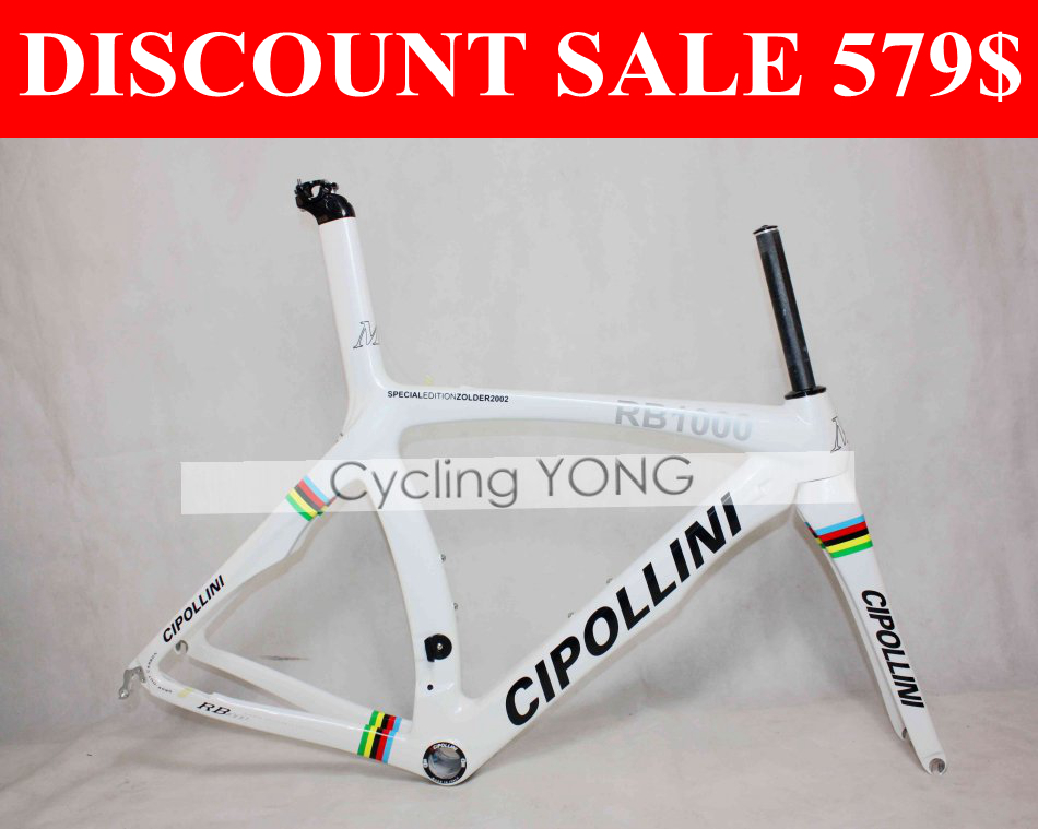 Black Sails World champion Cipollini RB1000 road bike frame 1K Cipollini RB1K Carbon bicicleta de carretera de carbono frame