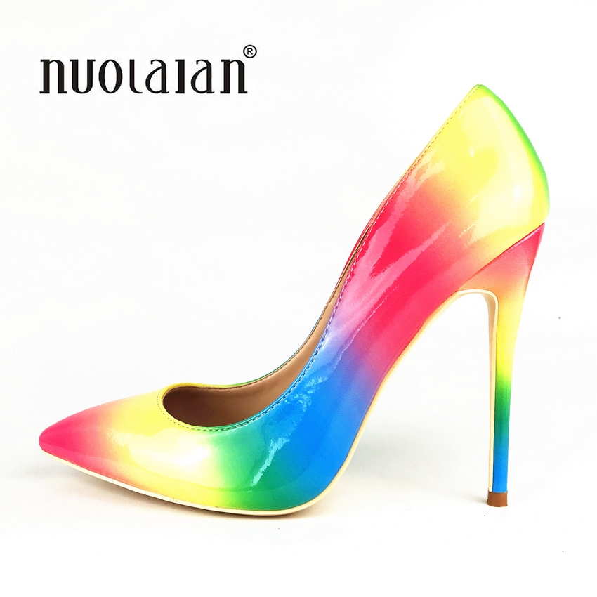 2018 Brand fashion women pumps 12cm/10cm/8cm high heel shoes for women sexy pointe toe high heels party wedding shoes woman2018 Brand fashion women pumps 12cm/10cm/8cm high heel shoes for women sexy pointe toe high heels party wedding shoes woman